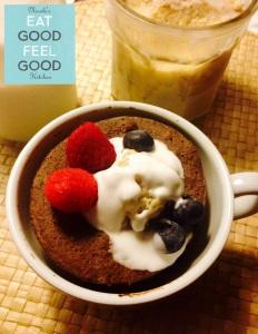 5 Minutes Coconut Flour Chocolate Mug Cake
