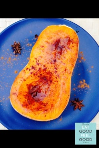 Caramelized Butternut Squash with Cinnamon & Nutmeg