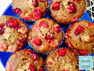 Cranberry Orange Cinnamon Muffins