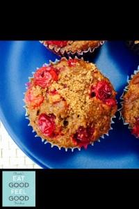 Cranberry Orange Cinnamon Muffins