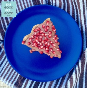 Chocolate Ganache & Pomegranate Tart