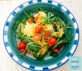 Nicole's Easy-Peasy Spaghetti Squash