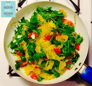 Spaghetti Squash Rucola & Pomodorini9N