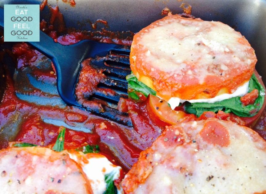 Gluten Free Butternut Squash Parmigiana