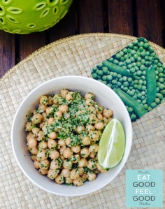 QUICK & DELICIOUS GARBANZO BEAN SALAD