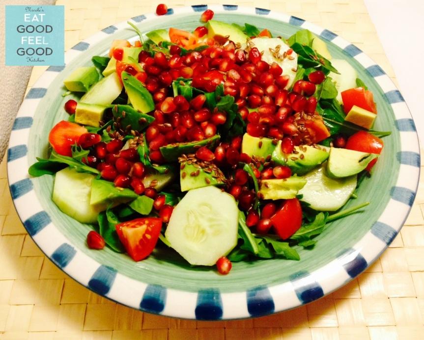 Light Pomegranate Salad