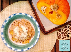 Pumpkin Spice Risotto