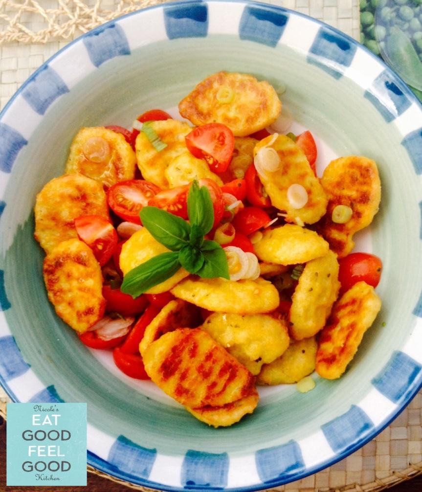 Gluten Free Cauliflower Gnocchi Pomodoro & Basilico