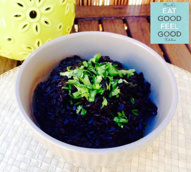 Cajun Shrimp Black Risotto13N