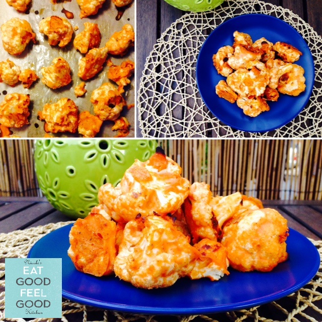 Sriracha Cauliflower Wings4N